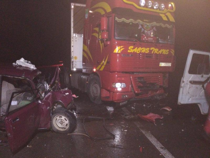 На Львовщине произошло ужасное ДТП, пострадали восемь человек