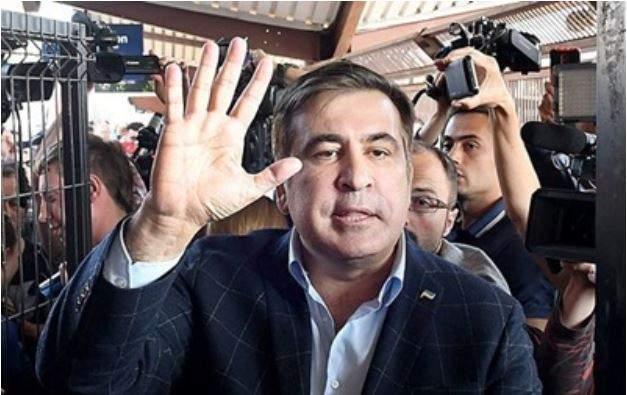 «Встретим Новый год без барыг…»: Что происходило на вече Саакашвили (ВИДЕО)
