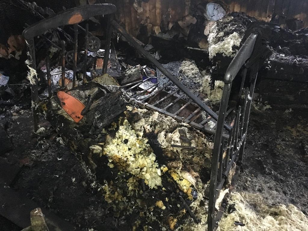Сгорели заживо! В Житомирской области во время пожара погибли два ребенка