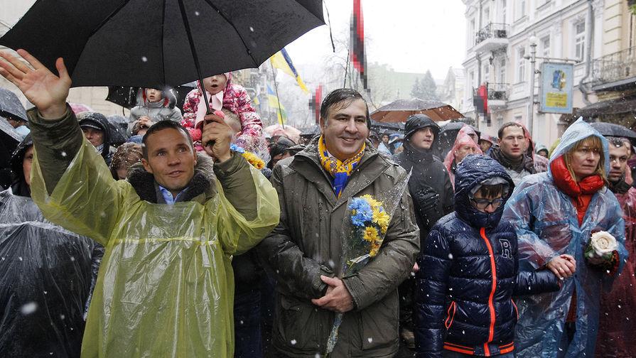 «Он выводит на Крещатик Антимайдан…»: Саакашвили сделал новое резкое заявление