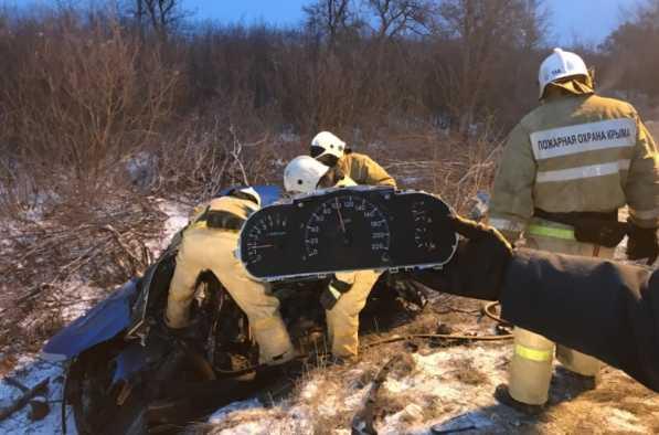 Смертельное ДТП в Крыму: авто разорвало пополам