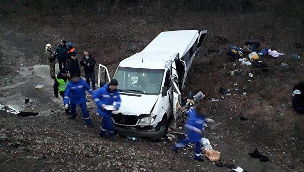 «Все жители Украины, направлялись в…»: украинские работники попали в жуткое ДТП