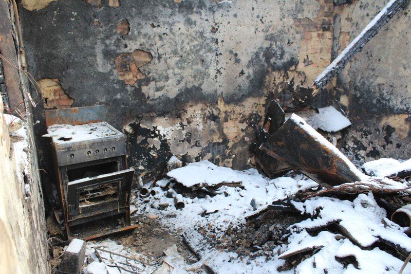 53-летнюю жительницу Кировоградской области убили и сожгли вместе с домом