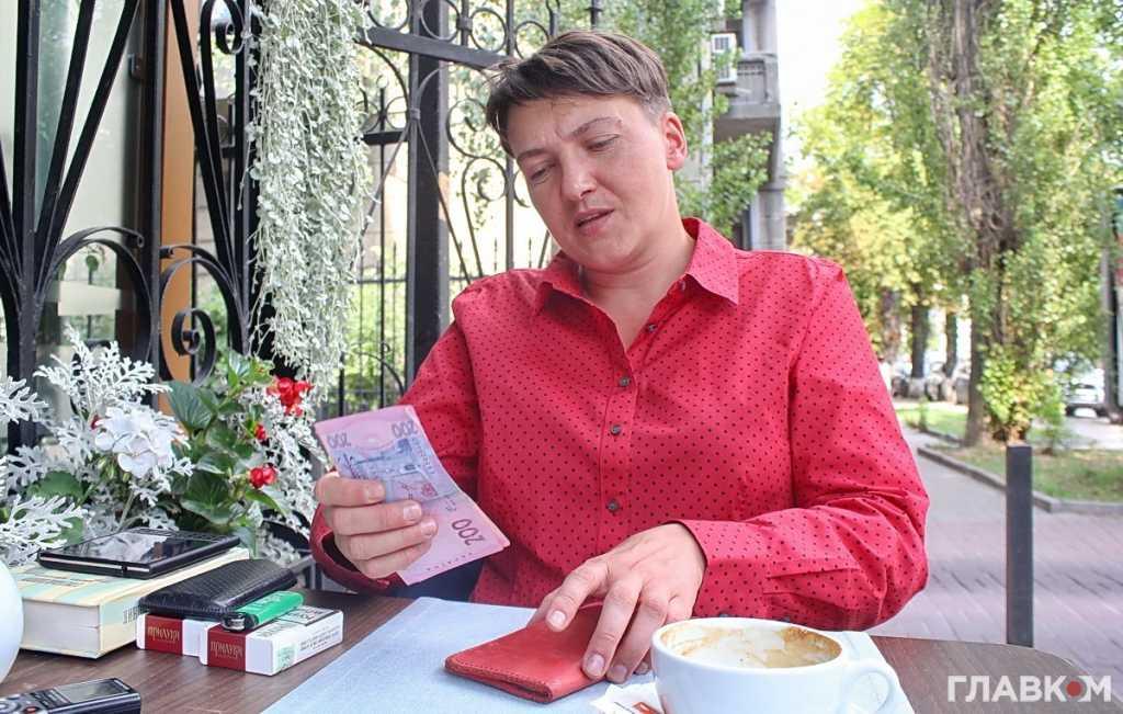 «Чтобы не переедать»: Надежда Савченко выдала новый «перл» в эфире