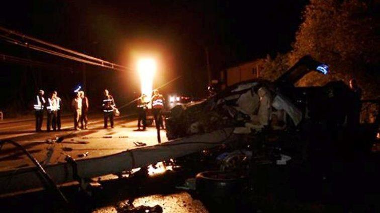 Страшное ДТП на Прикарпатье: Грузовик на полном ходу влетел в бетонный мост
