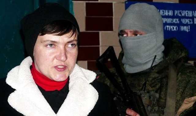 «Секретно и без СМИ»: Савченко ездила к главарям «ДНР», а все потому …