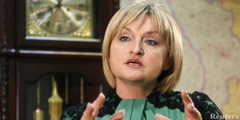 Платья шьет сама, а украшения обычные подделки: Ирина Луценко заявила, что она «умеет» одеться