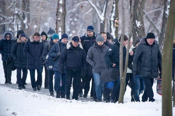 «Это было лишь предложение» История о том, как Кличко со своими заместителями в прорубь нырял