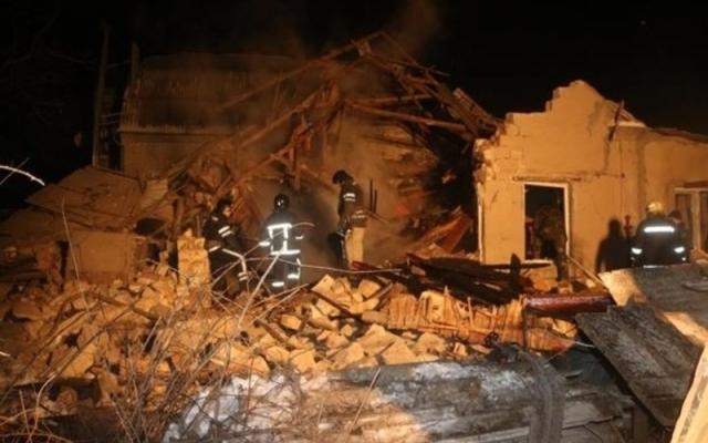 Осталась только груда кирпича! На Херсонщине произошел взрыв в жилом доме