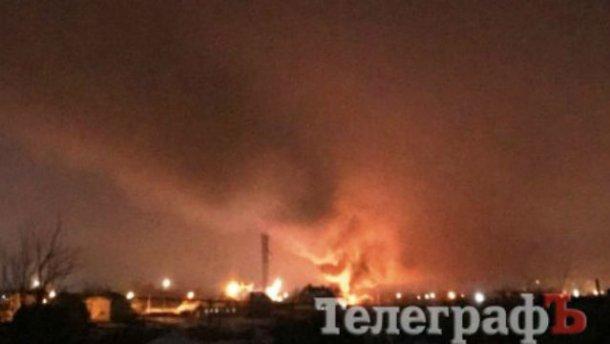 «Врезался в башню и загорелся»: На Полтавщине произошла авиакатастрофа, погибли люди