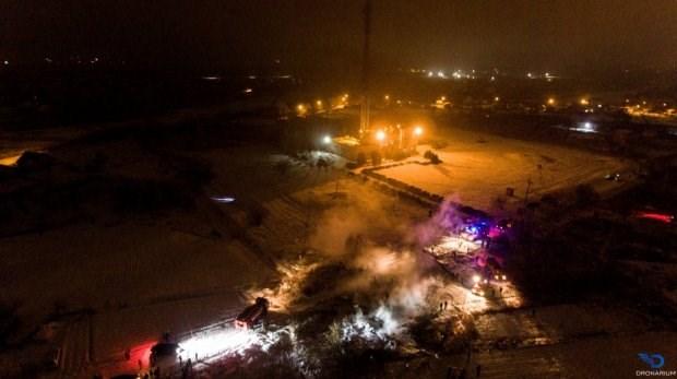«Врезался в телевизионную башню»: Появились первые кадры авиакатастрофы, которая произошла на Полтавщине. Есть погибшие