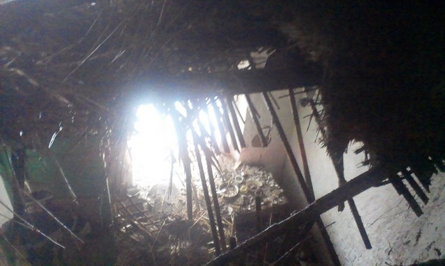 Почти полностью сгорело! На Херсонщине произошел страшный пожар в жилом доме