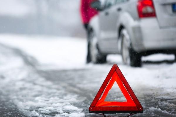 У Тячева произошло ДТП: столкнулись два автомобиля