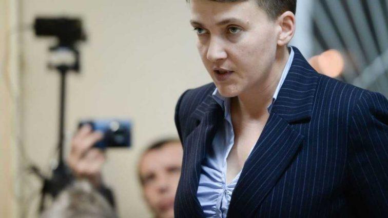 «Нет, в Верховной Раде нет мужчин!: Самое громкое заявление Савченко в прошлом году