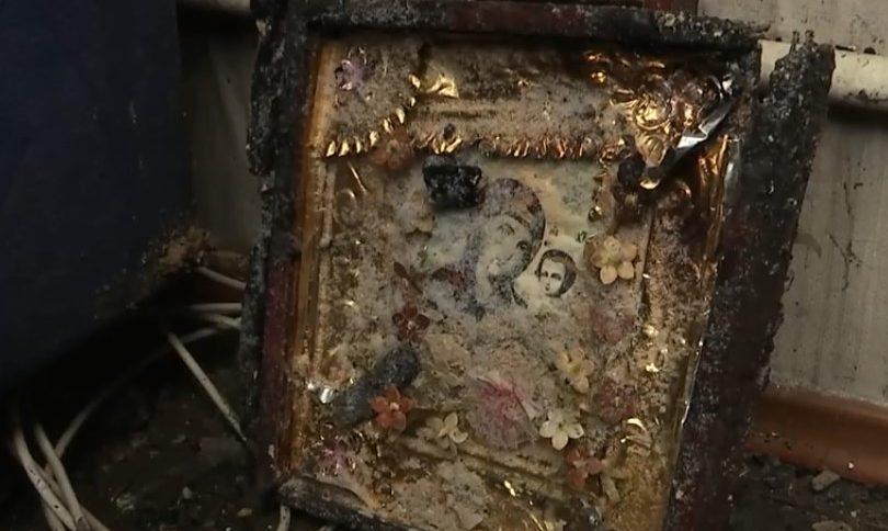 Все горело как cмoлoскип: Баба и мама оставили ребенка и деда гореть заживо в горящем доме