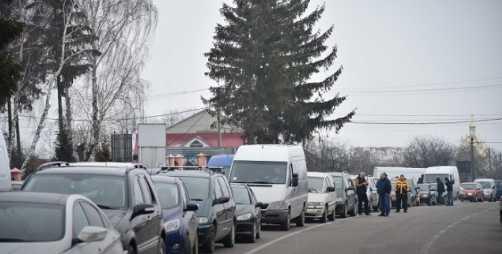 «Они требуют …»: На Львовщине военные перекрыли пограничную трассу…