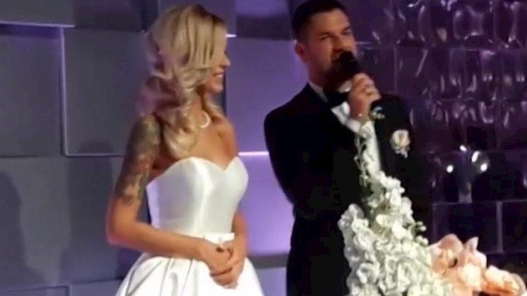 С зарплатой в 9 тыс. грн: Одиозный регионал отгулял свадьбу с известной телеведущей, стоимостью в 60 000 долларов