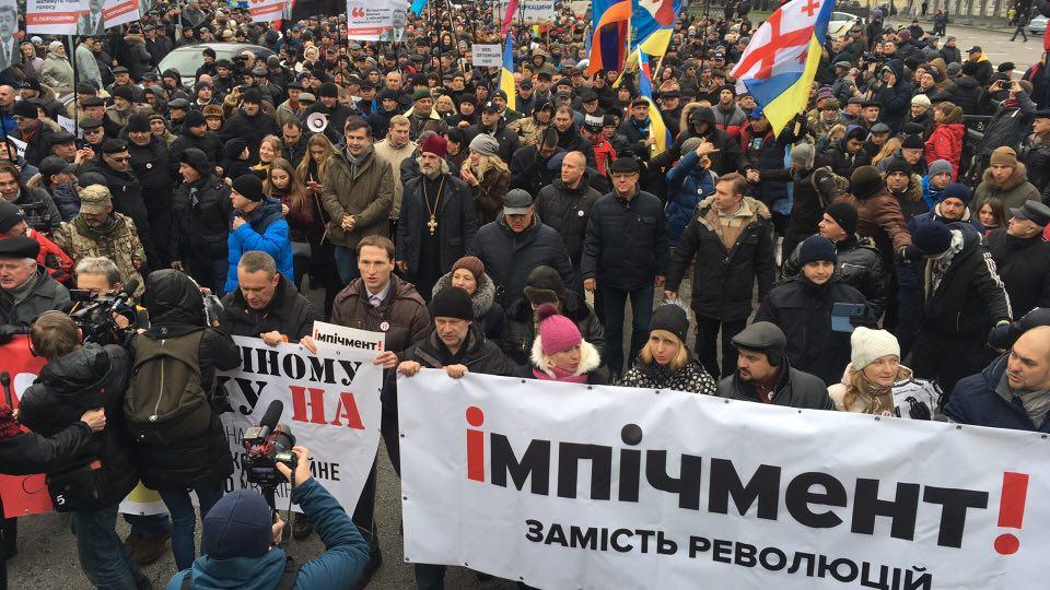 «Шествие на 50 тысяч человек, палатки на Майдане»: Сторонники Саакашвили готовят новые акции протеста. Узнайте детали