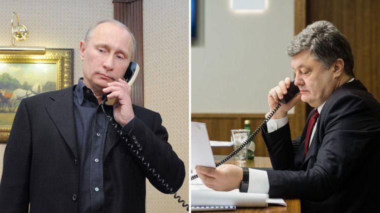 «Он говорил про …»: Стала известна правда о нашумевшем звонке Порошенко Путину