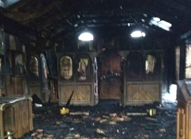 «Становится странным когда христиане…» — Духовенство УПЦ прокомментировало поджог храма во Львове