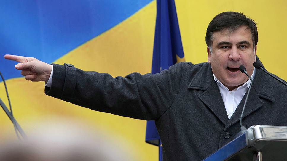 «Получили деньги от Администрации президента …»: Саакашвили обвинил Порошенко в срыве митингов