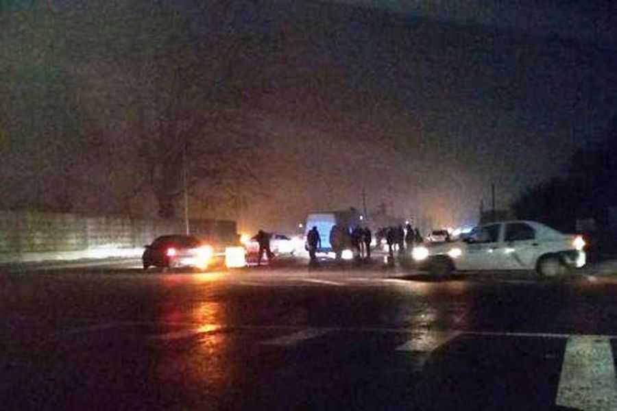 Страшная смерть: Мужчина погиб, перебегая восьмиполосную трассу