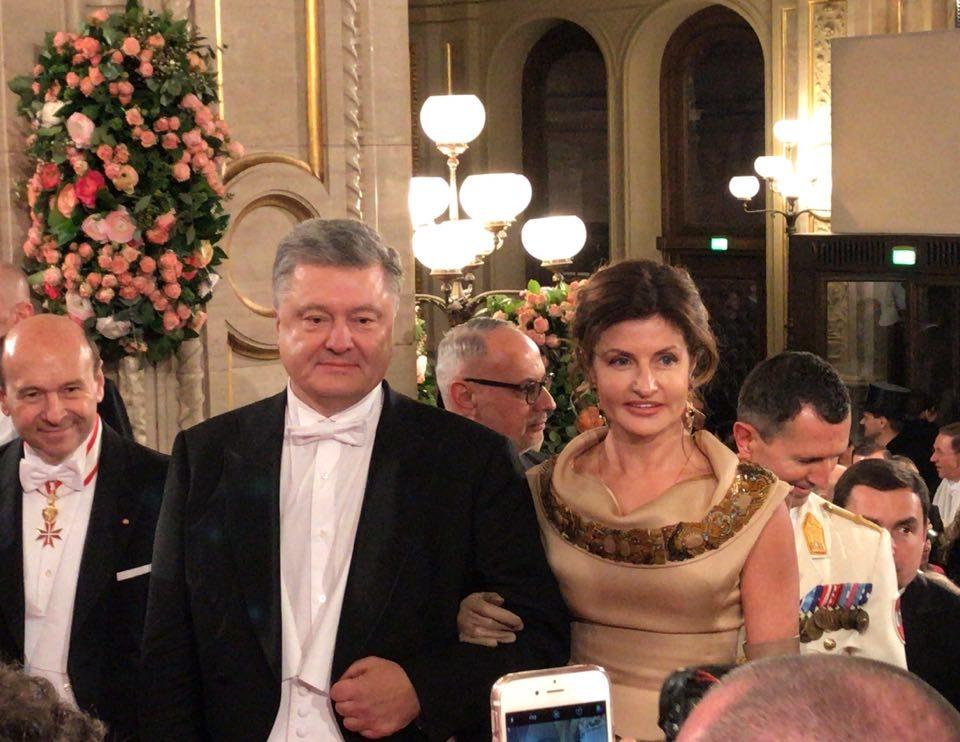 На Венском балу российские послы поиздевались над Порошенко