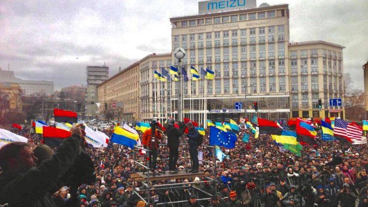 Сторонники Саакашвили выдвинули Порошенко ультиматум и планируют собрать Майдан уже совсем скоро