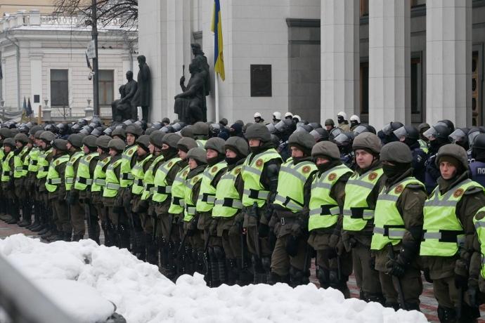 Срочно! Сторонники Саакашвили начали штурм Верховной Рады? Вот что там происходит