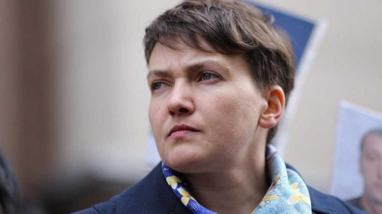 «Раскрою имена когда …»: Савченко обвинила парламент в сотрудничестве с боевиками