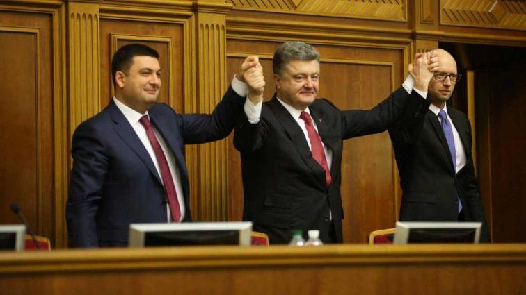 «Дуля в кармане»: Что не поделили между собой Гройсман, Аваков, Яценюк и Порошенко