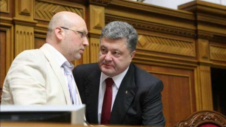 Все ради победы Порошенко Турчинов сдал Крым через президентские выборы