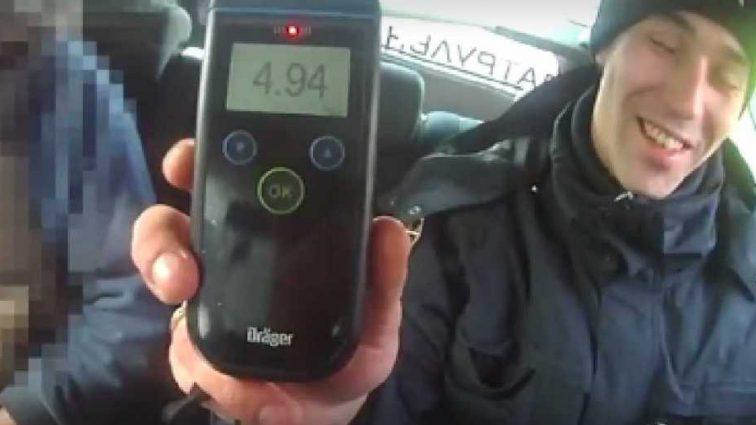 «В более чем 24 раза превышает допустимую норму»: Во Львове поймали водителя-пьяницу