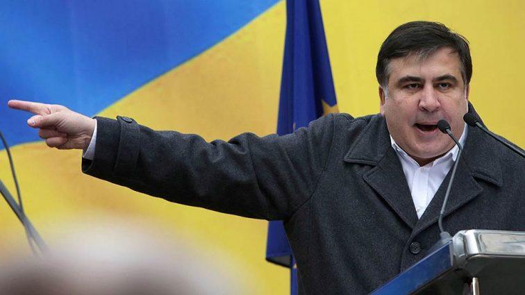 Количество людей поражает! В Киеве начался Марш сторонников Саакашвили, первые подробности