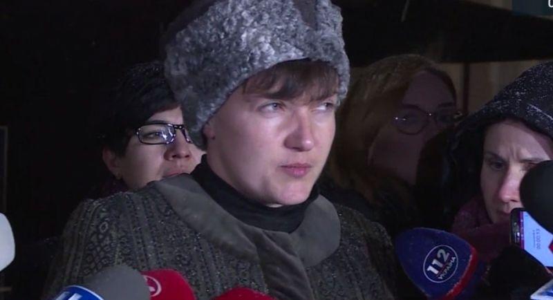 «Я брошу ее прямо в лицо президенту»: Савченко снова сделала громкое заявление