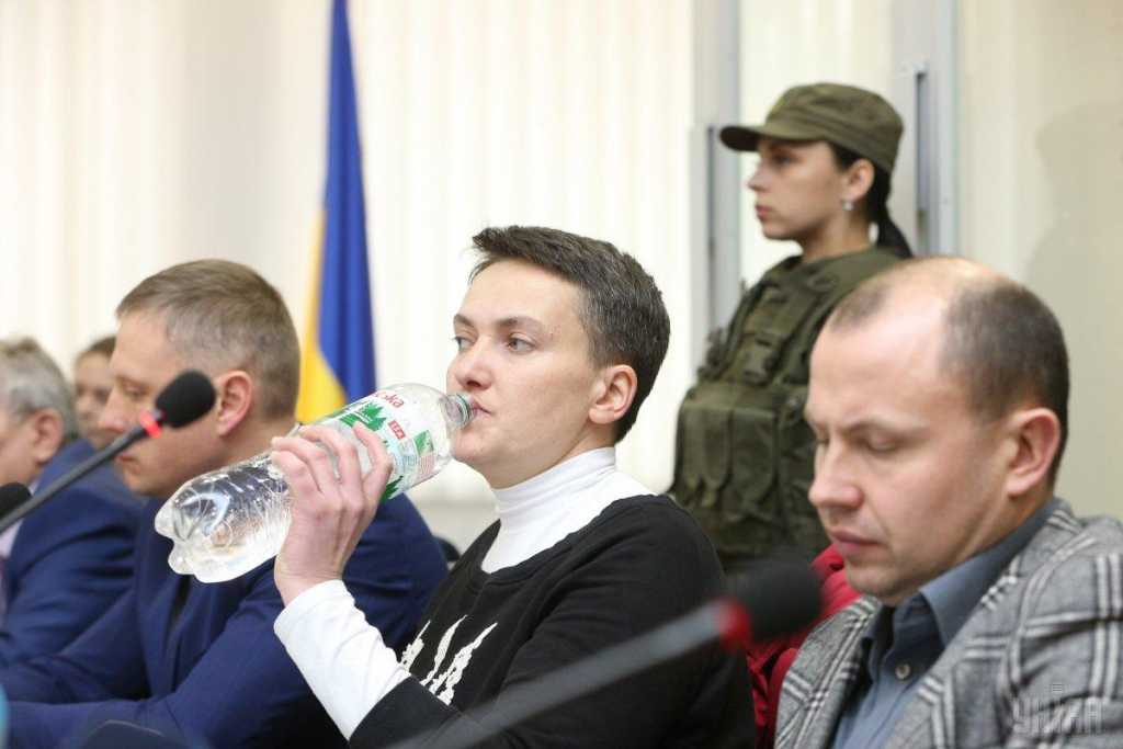 «Будешь лизать зад своему начальству»: Савченко резко обратилась к прокурору