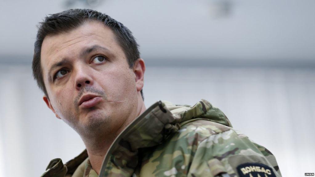 Семенченко предоставил доказательства обмана Авакова про оружие в разогнанном палаточном городке