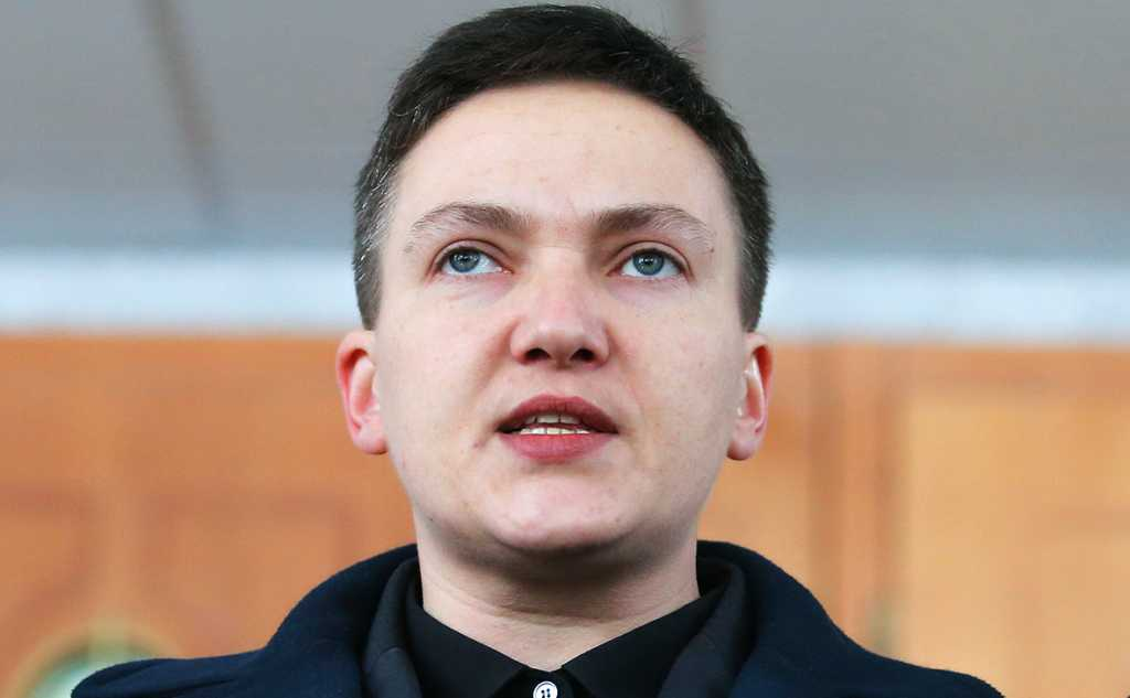 «Готовые слетать вертолеты и бомбить Верховную Раду…»: Савченко сделала очередное резкое заявление