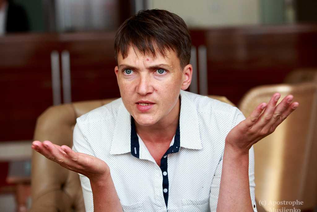 «Российская консерва»: Савченко решили лишить звания Героя Украины