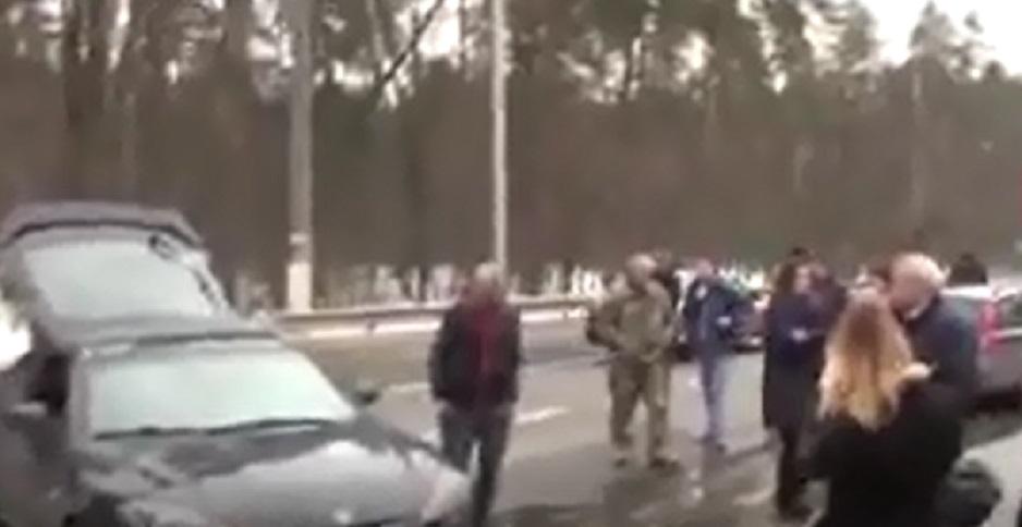 «Ехала митинговать к Авакову»: Скандальная активистка и соратница Саакашвили попала в аварию