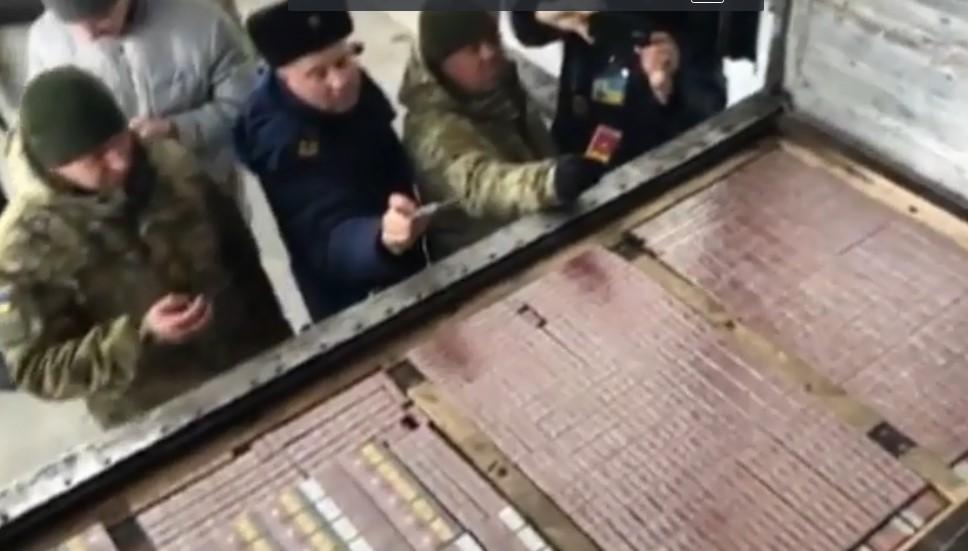 Контрабанда почти на 1 млн грн: На границе с Россией обнаружена партия сигарет