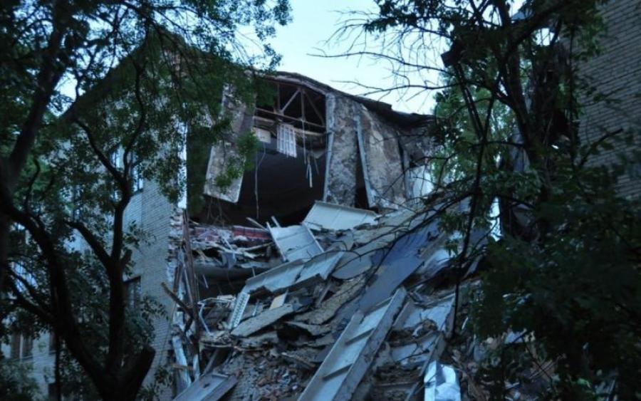 Срочно! Мощный взрыв потряс Донецк. Видео разрушительных последствий