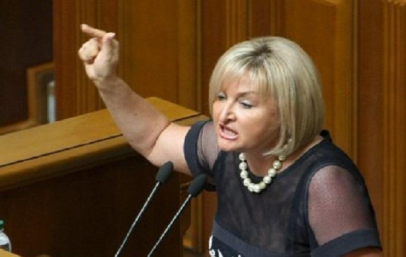 Скандал в Верховной Раде: Луценко заявила, что Украина должна признать Путина легитимным президентом