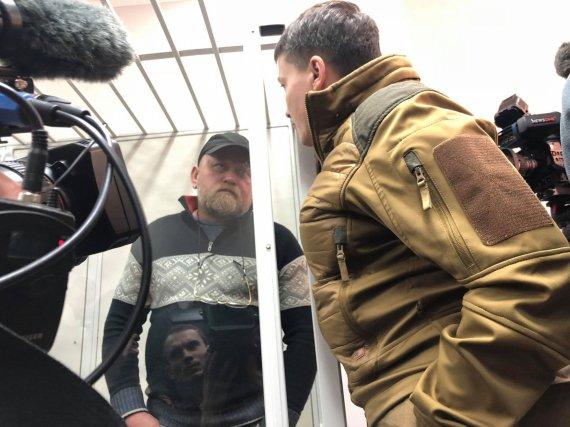 Журналистов поразило поведение Савченко в суде над Рубаном (Видео)