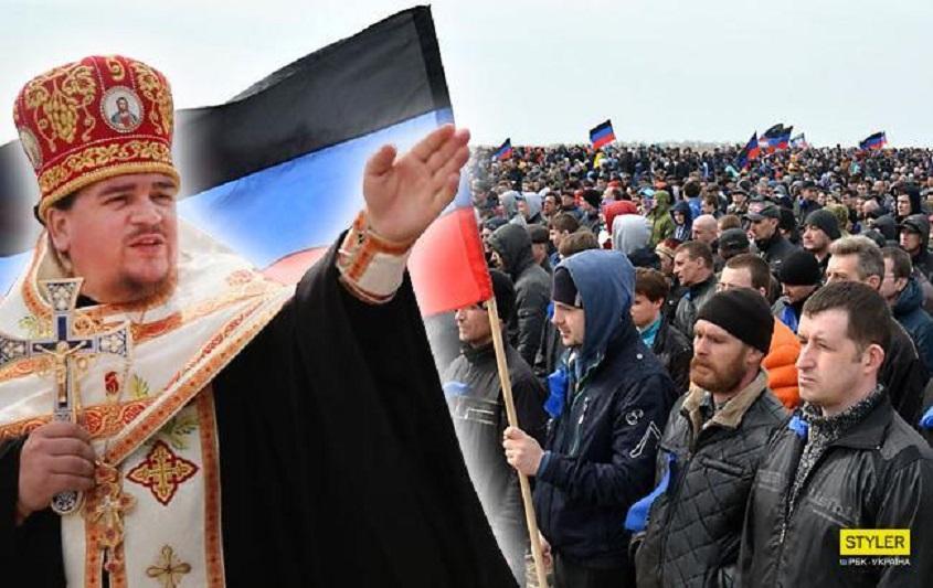 Скандал вокруг церкви: АТОшник обвинил священников в открытом сотрудничестве с боевиками