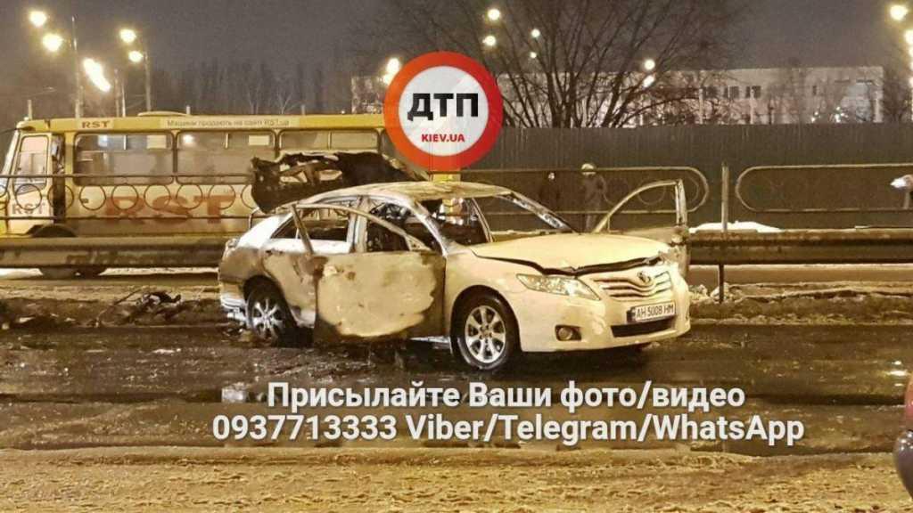 Бывший «Беркутовец» кинул гранату в машину «СБУ»