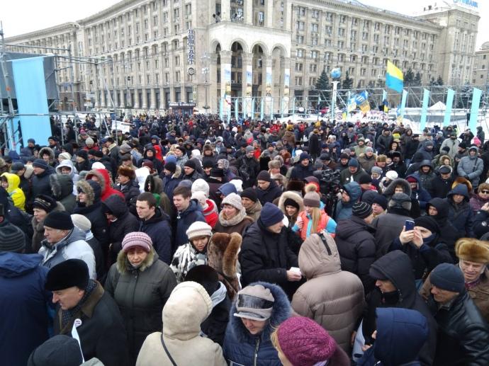 «Порошенко — это обнищание, бедность»: Протестующие направляются в имение президента