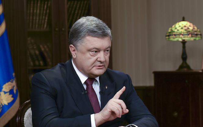 «В сложившейся ситуации …»: Порошенко дал эмоциональное интервью украинским телеканалам