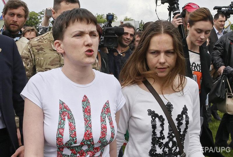 «Она похудела, но …» Сестра Надежды Савченко Вера рассказала о самочувствии заключенной