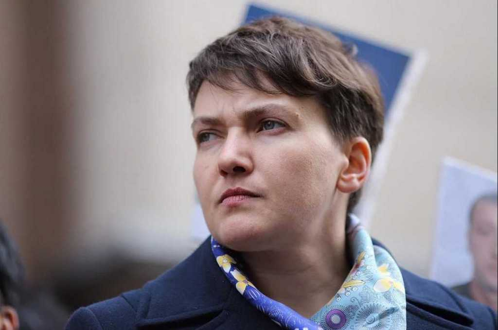 «Украинская Кардашян»: Украинцы смеются над Савченко, которая «пухнет от голода»